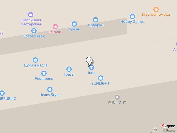 LA-Nails на карте Тамбова
