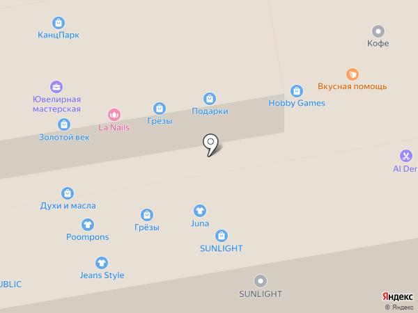 Muskus на карте Тамбова