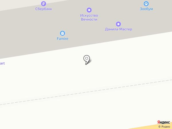Famire на карте Тамбова
