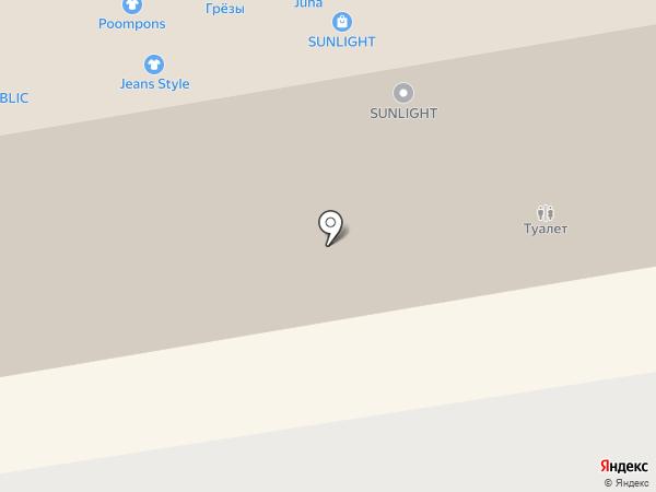 Фартук на карте Тамбова