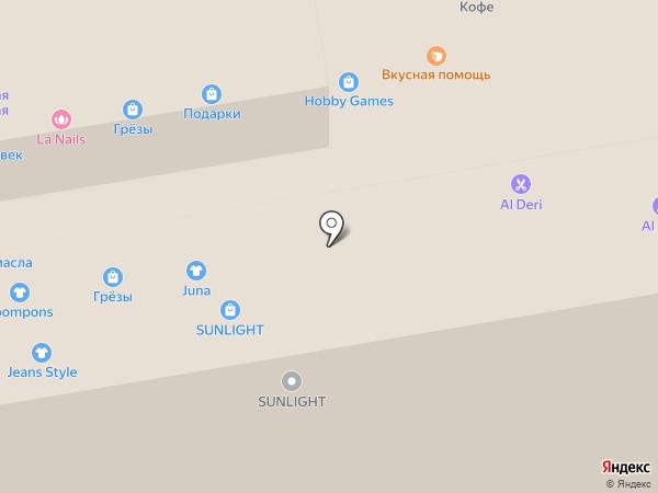 Жеlanie на карте Тамбова