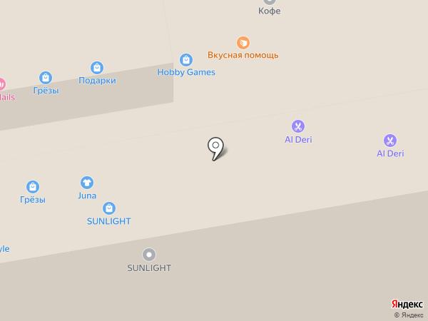 HobbyGames на карте Тамбова