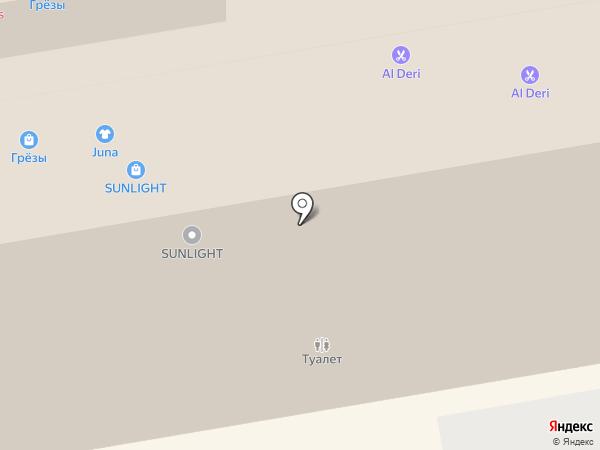 Amber breez на карте Тамбова
