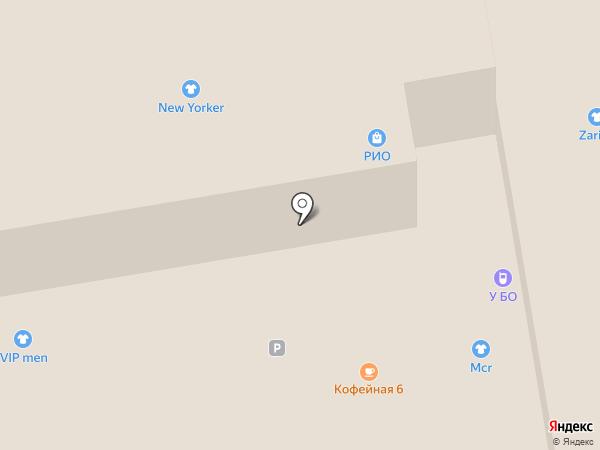 Хлебный дом на карте Тамбова