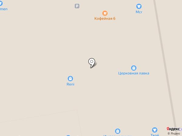 Vintage на карте Тамбова