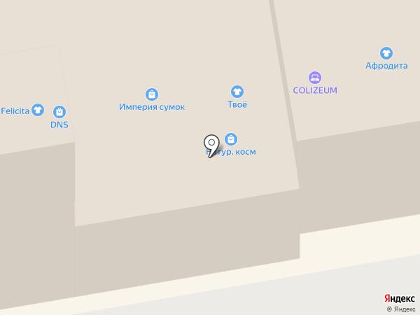Ковры Элит на карте Тамбова
