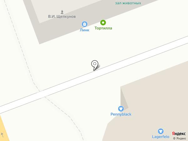 Линк на карте Тамбова