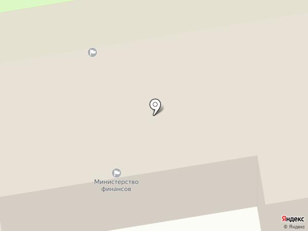 Финансовое управление Тамбовской области на карте Тамбова
