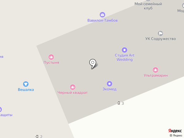 Lash Profi на карте Тамбова
