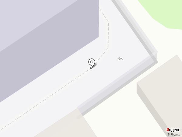 Лицей №21 на карте Тамбова