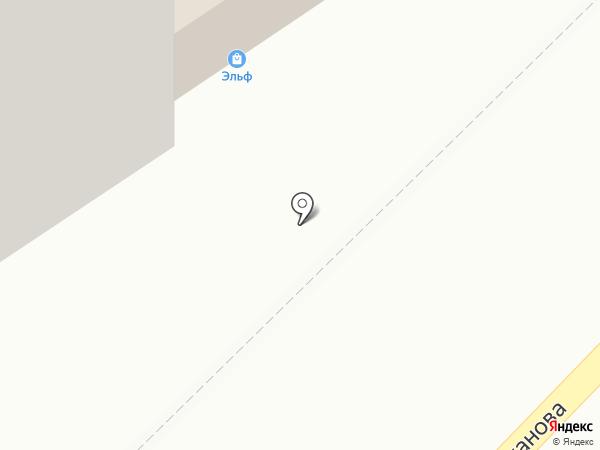 Удача на карте Тамбова