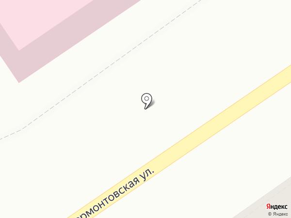 Дезинфекционная станция на карте Тамбова