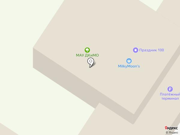 Парк культуры и отдыха на карте Тамбова