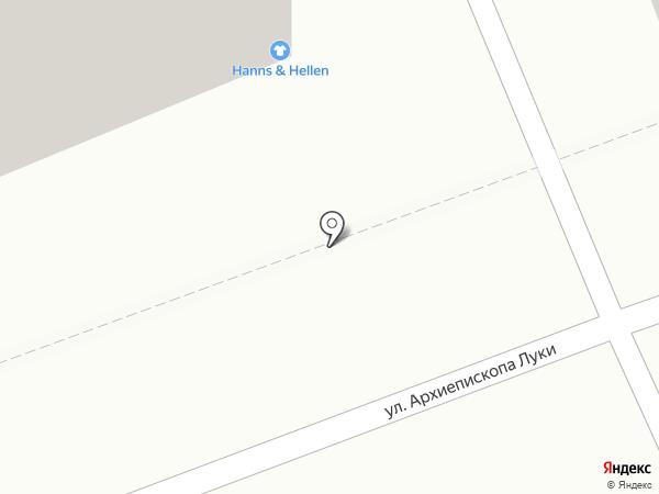 Ханнс энд Хеллен на карте Тамбова