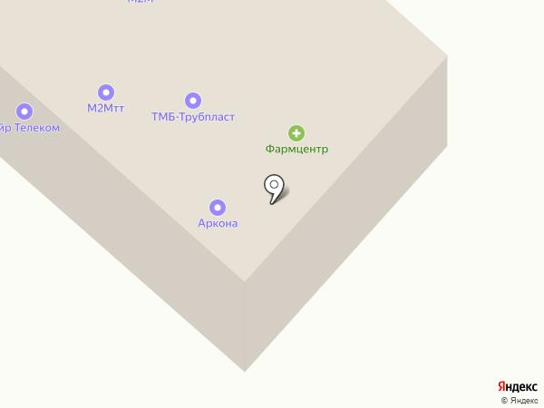 Фармцентр на карте Тамбова