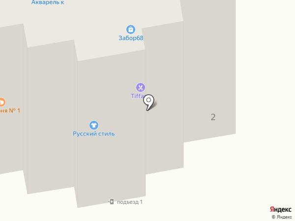 Салон-парикмахерская на карте Тамбова