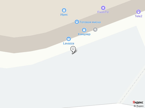 Праздник100 на карте Тамбова
