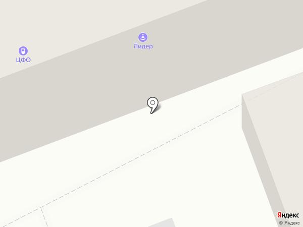 Управление по Тамбовской области на карте Тамбова