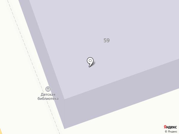Тамбовская областная детская библиотека на карте Тамбова