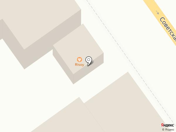 RISO на карте Тамбова