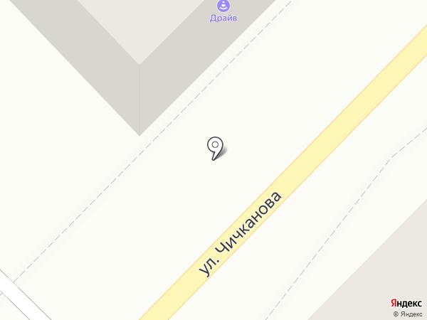 Драйв на карте Тамбова