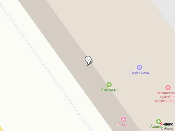 Авиценна на карте Тамбова