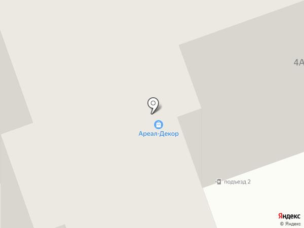 Ареал-Декор на карте Тамбова
