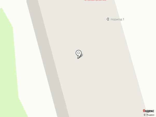 Конус на карте Тамбова