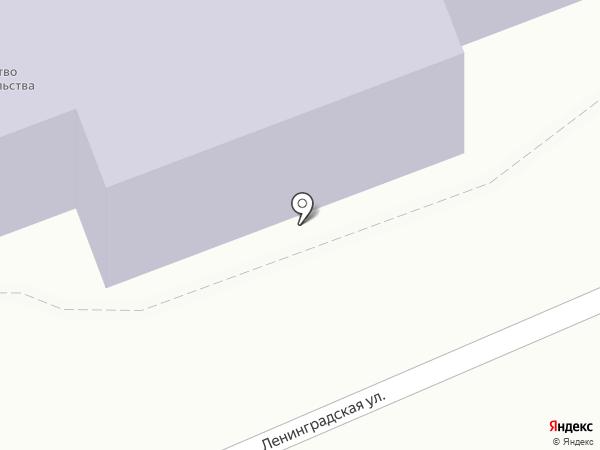 КапиталСтрой на карте Тамбова