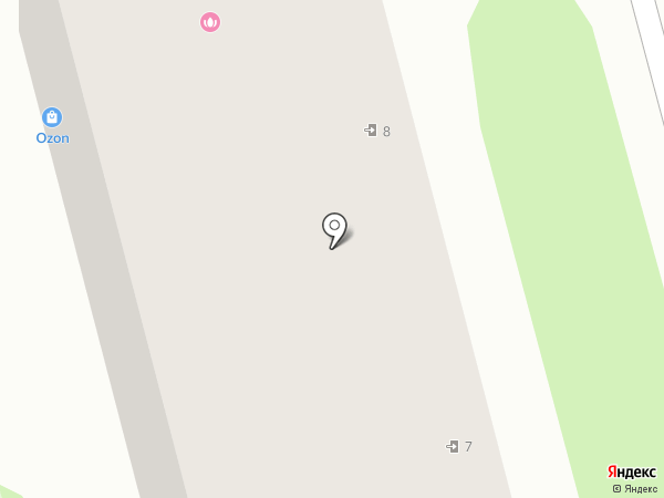 Фьюжн на карте Тамбова