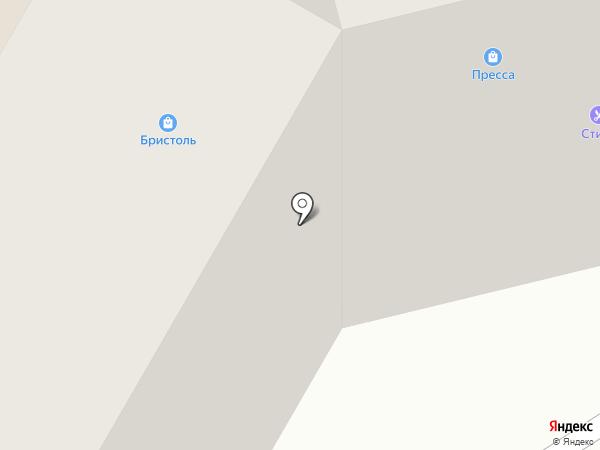 Викос на карте Тамбова