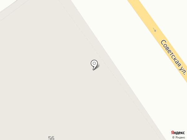 Лирия на карте Тамбова