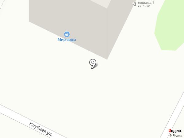Багульник на карте Тамбова