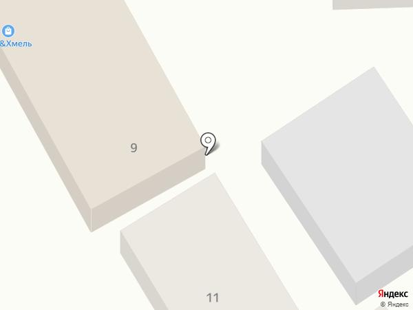 Денискина Корчма на карте Бокино