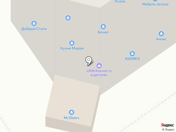 Тамбов-Керамика на карте Тамбова