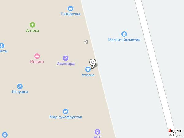 Огонёк на карте Тамбова