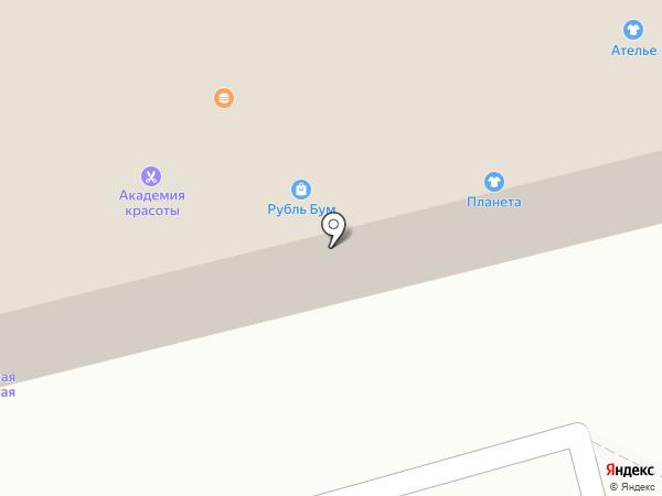 Авоська на карте Тамбова