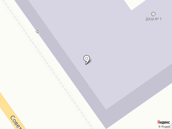 Детская художественная школа №1 на карте Тамбова