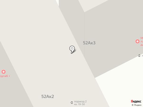 Розмарин на карте Тамбова