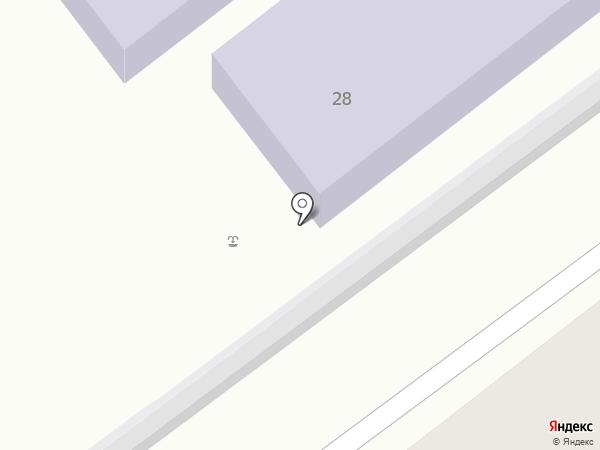 Библиотека №16 на карте Тамбова