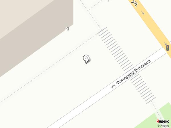 Управление МВД России по Тамбовской области на карте Тамбова