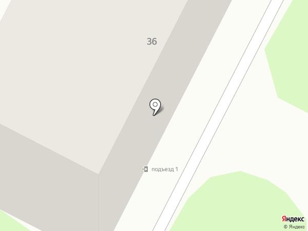Зенит на карте Тамбова