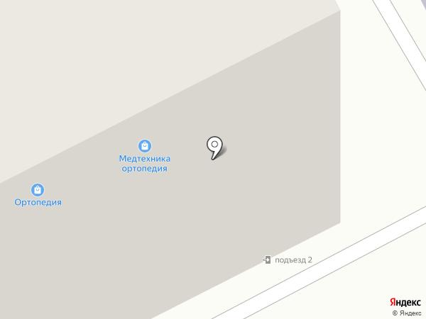 Ортопедия+Медтехника на карте Тамбова