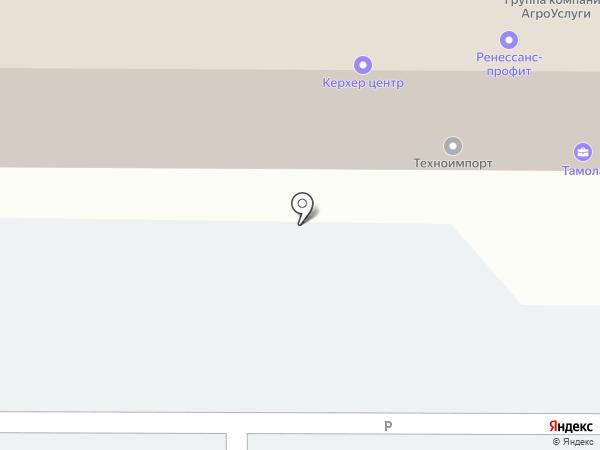 Клиндайк на карте Тамбова