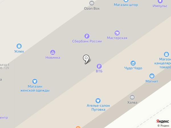 Интегра на карте Тамбова