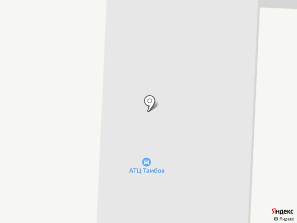 BARCAS CLUB на карте Тамбова