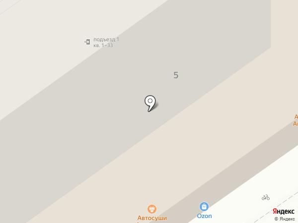 Медицинский центр М.В. Хабаровой на карте Тамбова
