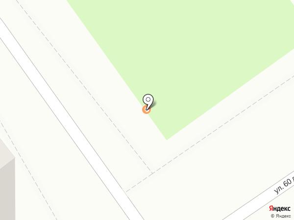 Киоск по продаже хлебобулочных изделий на карте Тамбова