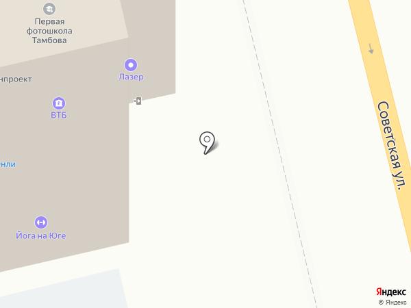 Антарес на карте Тамбова