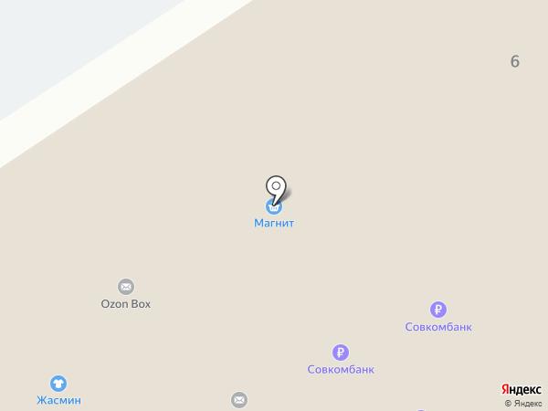 Жасмин на карте Тамбова